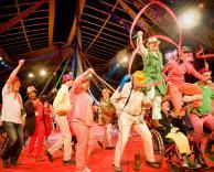 La compagnie de Cirque de L'Arche à Beauvais